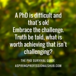 6. PhD Survival 2
