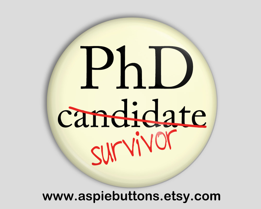 So You Want to do a PhD? – Your Survival Guide (Part II