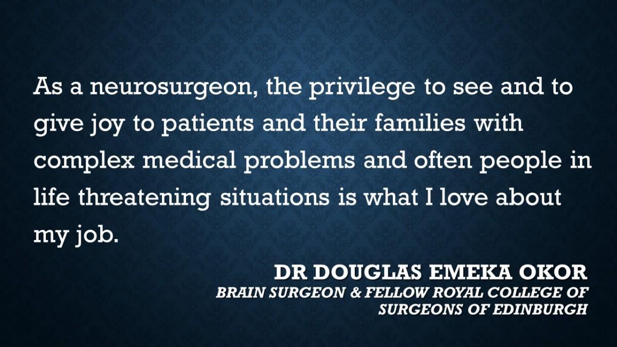 Meet Press Interview >> #CareerFocus – Neurosurgery – The Aspiring Professionals Hub